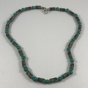 Vintage Beaded Necklace, Vintage Jewelry